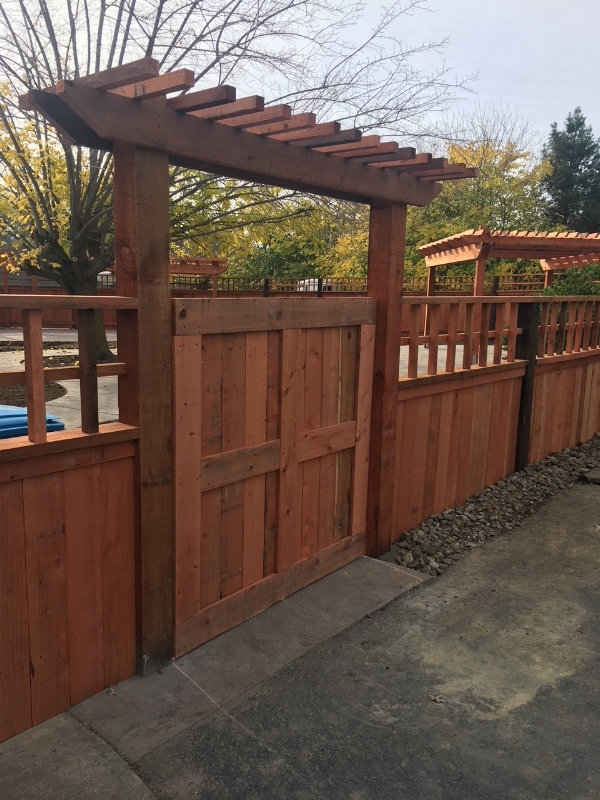 Wood structures -- fencing and gates