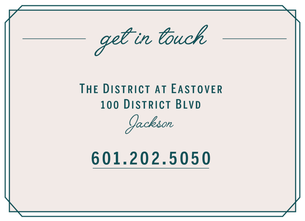Get in touch with us at 601.202.5050