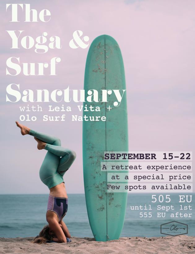 yoga and surf retreat