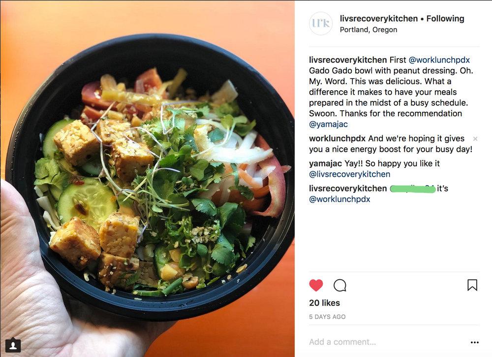 plant based vegan meal delivery service portland oregon