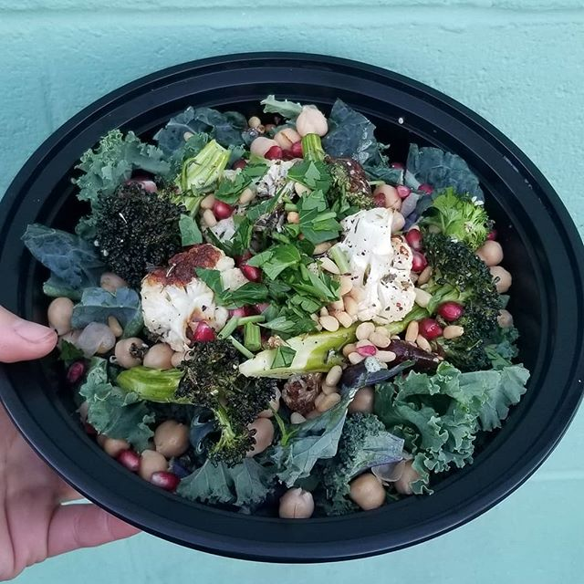 This is what a salad should look like. Hearty, loaded with vegetables and nutrients to heal, fuel, and nourish your body.
