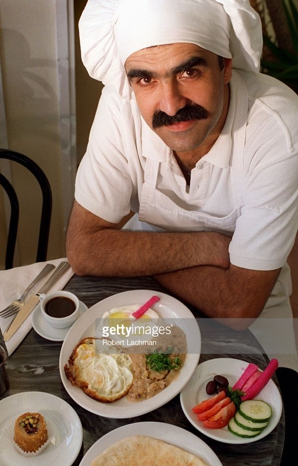 Adel Mahshi in Los Angeles Times circa 1995