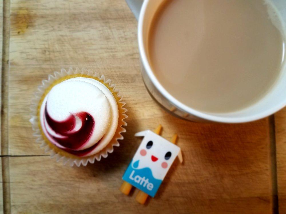 Cupcake, Latte & Coffee