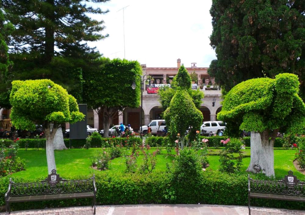 Jardín de Moroleón Gto
