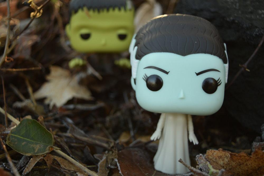 Frankenstein & Bride of Frankenstein Funko Pops