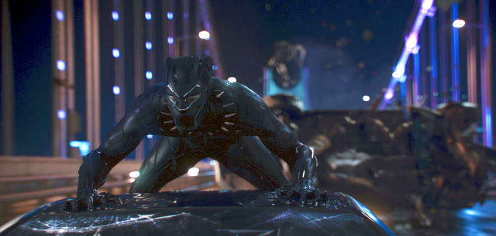 "In this image by Disney, a scene from ""Black Panther"" from Marvel Studios (Matt Kennedy/Marvel Studios-Disney vía AP)"