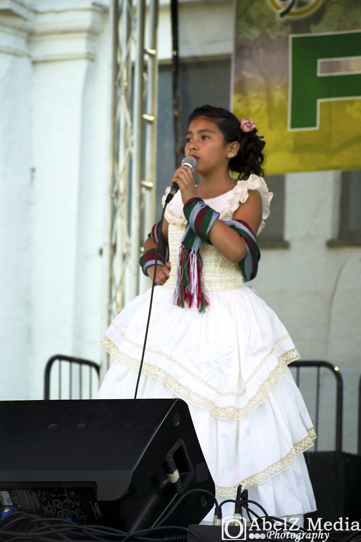 Fiesta del Pueblo Talent Show 3rd Place - Nicole Perez