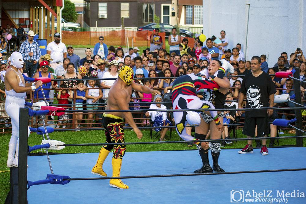 Fiesta del Pueblo - Lucha Libre