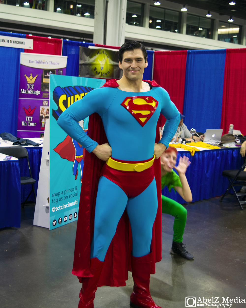 Superman at the Cincinnati Comic Expo 2018