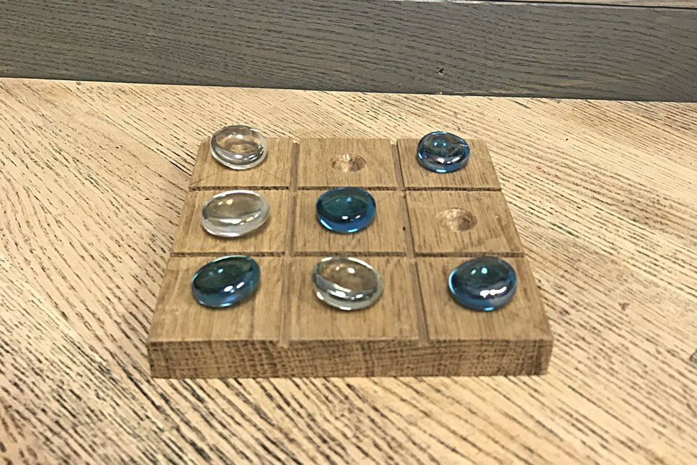 Tic Tac Toe Board: $7 per kit    1 hour to complete