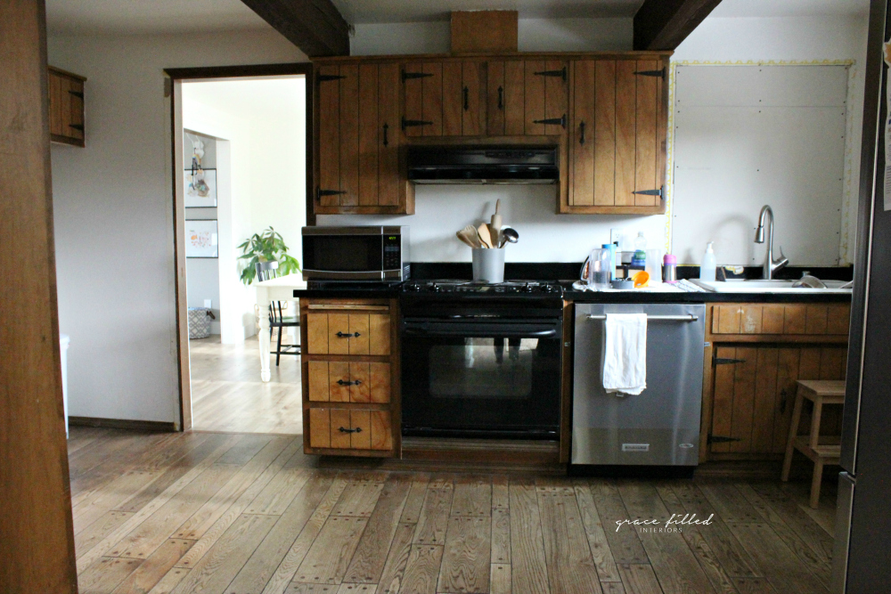 Grace Filled Interiors — OUR KITCHEN REMODEL- THE BEFORE + INSPIRATION