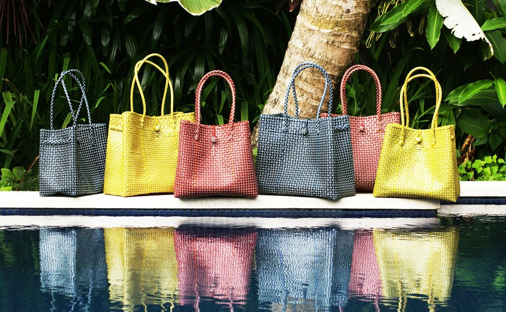 Camelia Collection - Eco Fashion Bags made Recycled Plastic