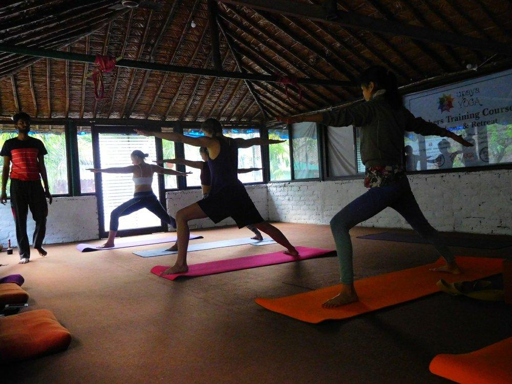 Ashtanga vinyasa yoga - Aravind Sattaiyappan