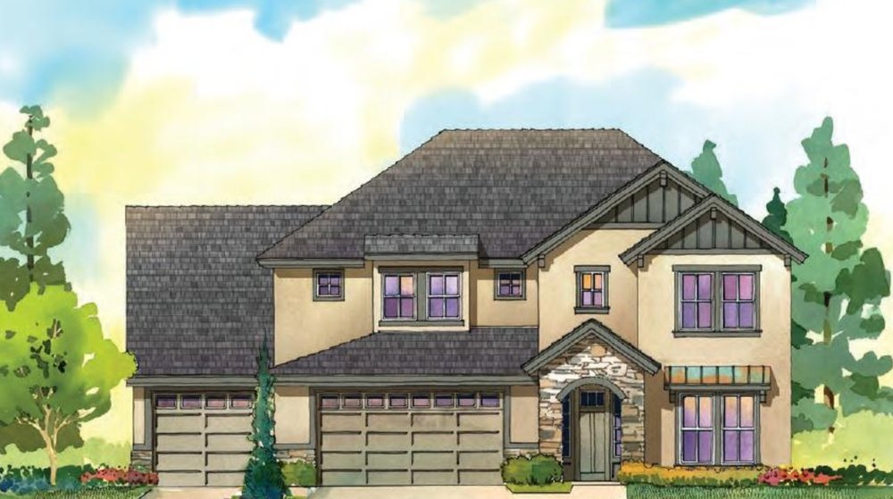 The Claremont - 2 STORY | 5 BED | 3.5 BATH | 3 CAR | 3678 SF | FULL GUEST SUITE, DEN & BONUS ROOM