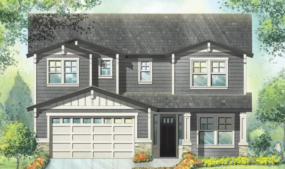 THE SEQUOIA - 2 STORY | 3 BED | 3 BATH | 3 CAR TANDEM | 2612 SF | BONUS, DEN & HOME MGMT CENTER