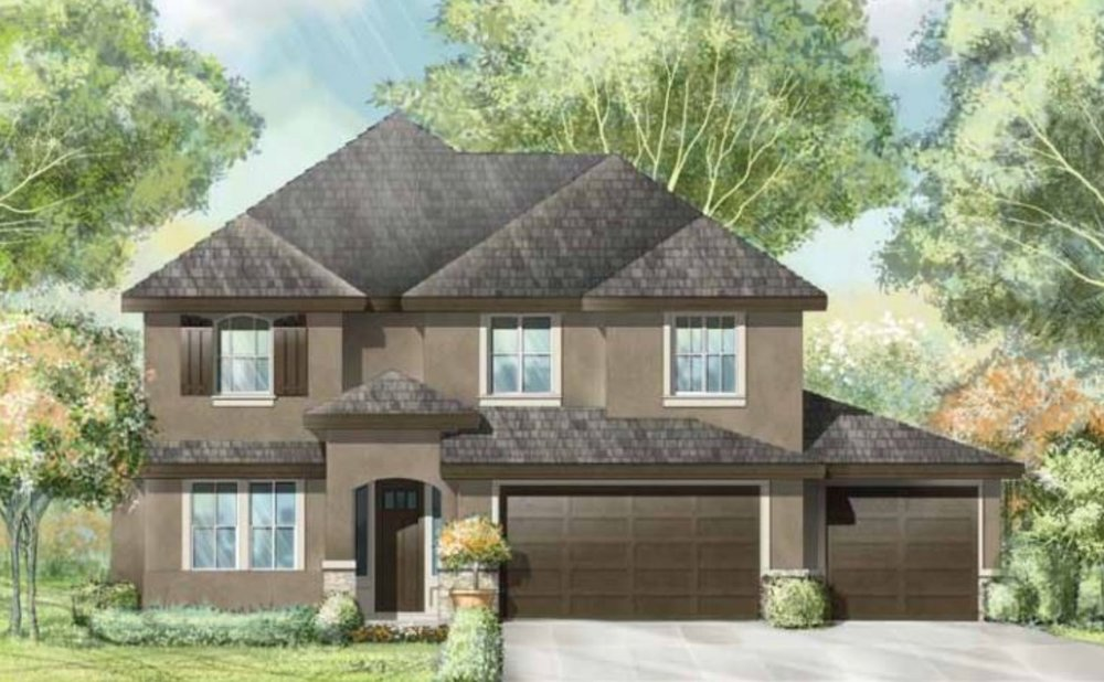 THE CHANCELLOR - 2 STORY | 4 BED | 2.5 BATH | 3 CAR | 3013 SF | DEN & BONUS ROOM