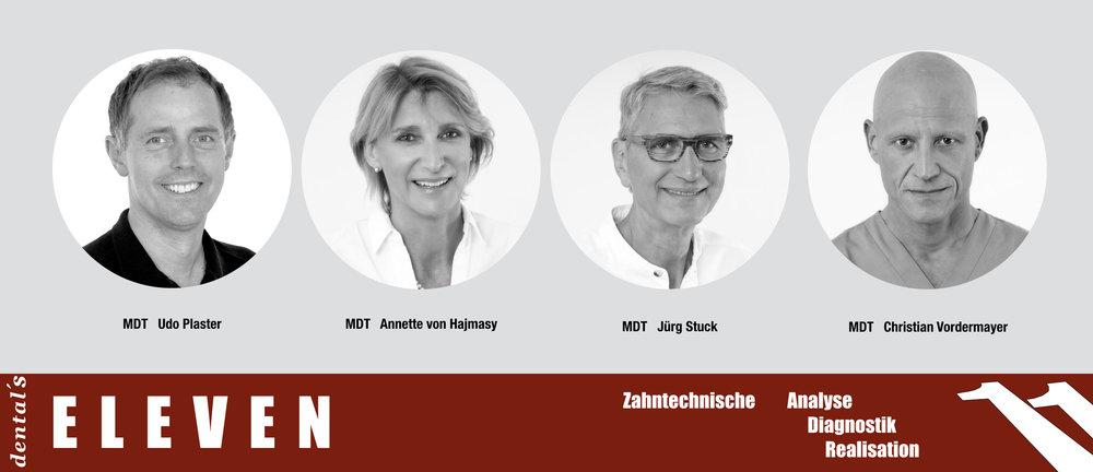 Christian, Nena, Jürg, Udo