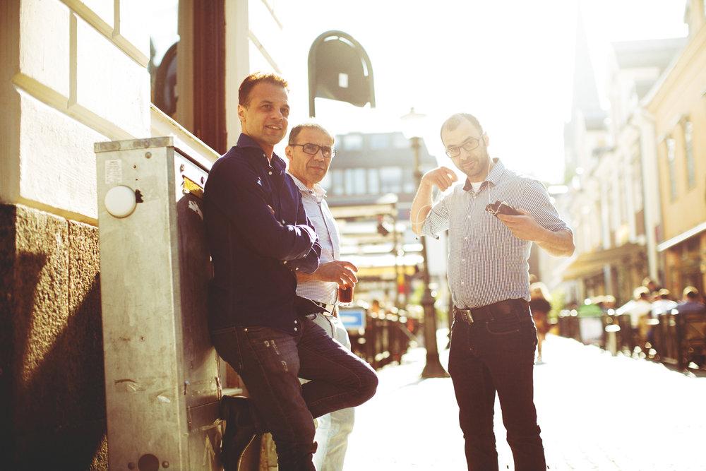 Johannes Soner, Sükru Soner och Peter Soner