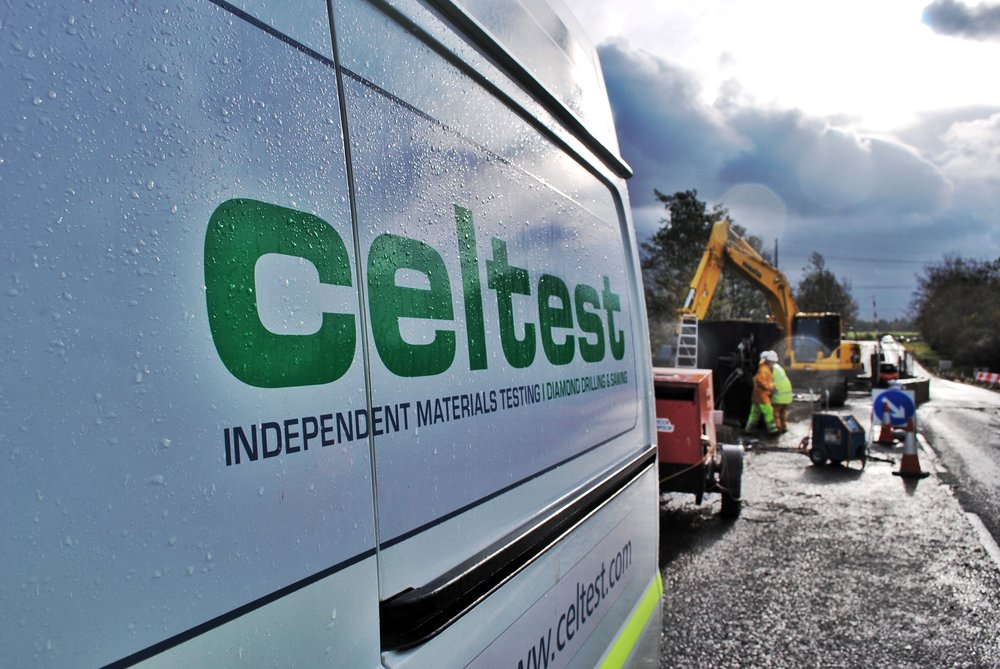 Celtest Van Diamond Drilling & Sawing