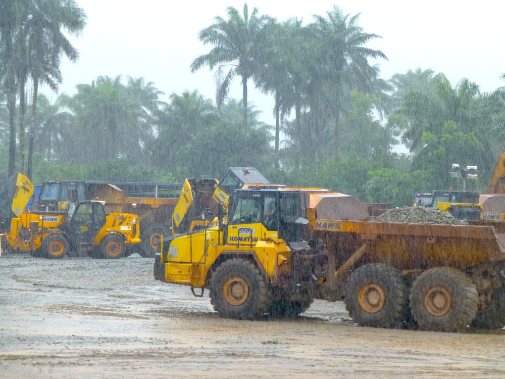 Tonkolili site - Sierra Leone