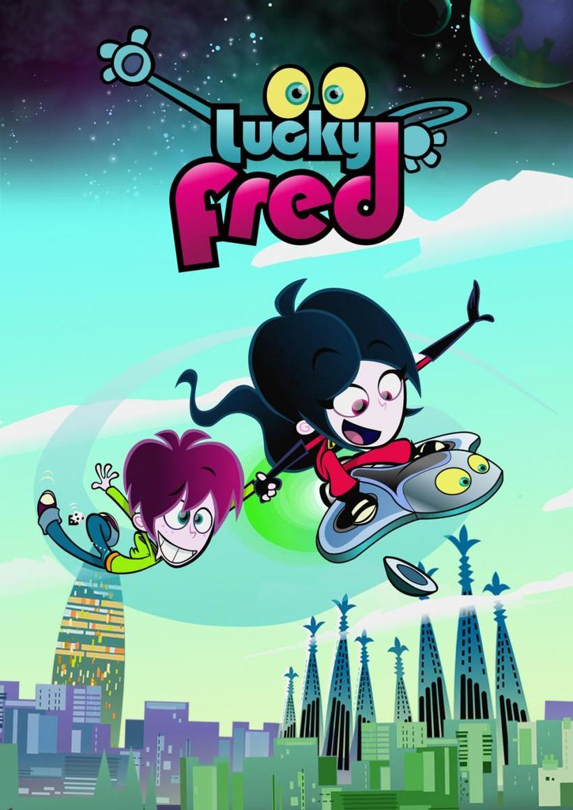 LUCKY FRED - (Series 2)FRED, a 15-year-old boy, while out walking one day crashes into an electronic device from outer Space. The device, a robot called FRIDAY was supposed to belong to Fred's next door neighbour, Braianna Robeaux, (a.k.a. top secret agent BRAINS) who, with the help of Fred and Friday continue their fight to protect planet Earth from evil villains like EGGHEAD. Their journey continues in season 2.Year 2016Duration 52 x 11 minsProduction Partners Telegael, Imira Entertainment, Toonz Media GroupGenre Animation, Science Fiction & Comedy