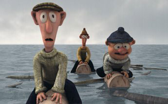 INIS COOL - The Island Of Inis Cool is a refreshing animation series that could only be set on an isolated island off an unknown coast of Ireland. Indeed, Inis Cool represents a cultural fault-line where time doesn't stand still, so much as loiters a bit. Our heroes, the three dim-witted schoolboys Biff, Boff and Ben O'Malley, amuse and annoy with their cheeky attitudes and outrageous antics. They live on a remote island but, when the modern world intrudes, tourists and technology are exploited without mercy in the interests of the boys and their comical ambitions.Series broadcasters include: KIKA, Germany; TG4, Ireland; YLE Finland; TV Estonia; NPB, Holland; BBC, Scotland and many other international broadcasters.Year 2005Duration 26 x 13 minutesExecutive Producer Paul Cummins, Gerry Sheerin, Ariane Payen, Il-Ho Kim.Producer Siobhán Ní Ghadhra, Russell Boland, Harry Kim, Lilian Eche.Director David mcCamleyProduction Partners Terraglyph, Ireland; Ocon, Korea & Lux Animation, Luxembourg.Distributor Ireland Telegael/ TerraglyphInternational Distributor Granada InternationalGenre Childrens Animation