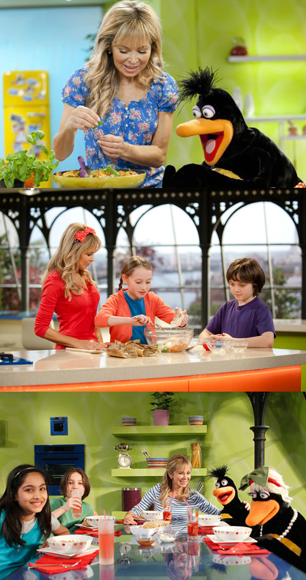 ANNABEL'S KITCHEN - Children and their parents lose themselves in the magical world of Annabel's Kitchen where everything is fun, interesting, exciting -and full of surprises.Each episode follows its own comical storyline to encourage the viewing audience and inspire children to cook along with their parents.During each episode a group of children come and hang out in Annabel's stylish yet homely loft apartment, where Jimmy the penguin lives in a converted fridge.  Often the children and their friends have problems relating to food, so Annabel and her team take the gang on a culinary journey of exploration to come up with a winning solution in a humorous, light-hearted way.Year 2011Duration 30 x 11 minutesExecutive Producer Paul Cummins, Annabel Karmel, Stephen MargolisProducer Siobhán Ní Ghadhra, Kwesi Dickson, Nick Karmel, Pete Coogan, Martin Baker, John BradyDirector Adrian HedleyPartners CITV; Future Films;  Absolutely Delicious Cupcakes Production Ltd; TelegaelGenre Pre-school Live-action