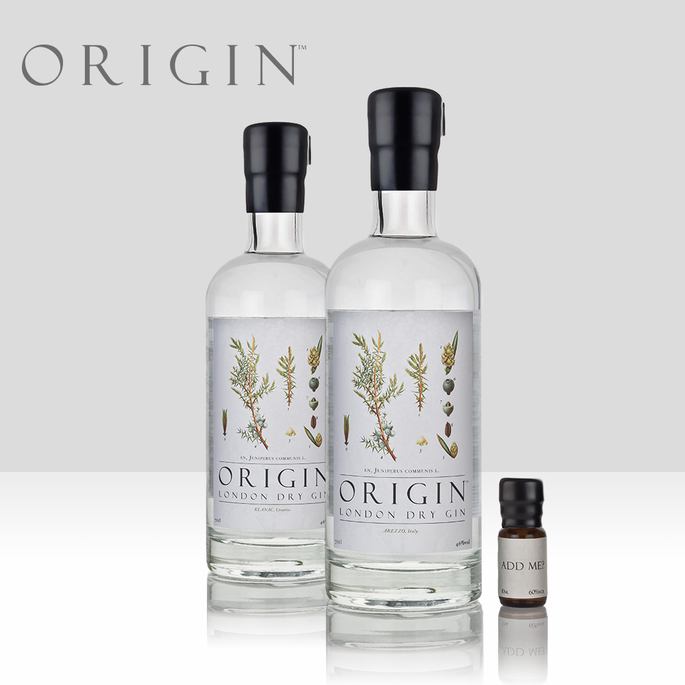 Origin   A genuinely unique concept exploring terroir in gin through the patient sourcing of single-estate juniper, carefully selected for each expression.   Find out more here...