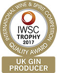International Wine & Spirit Competition 2017 - UK Gin Producer of the Year