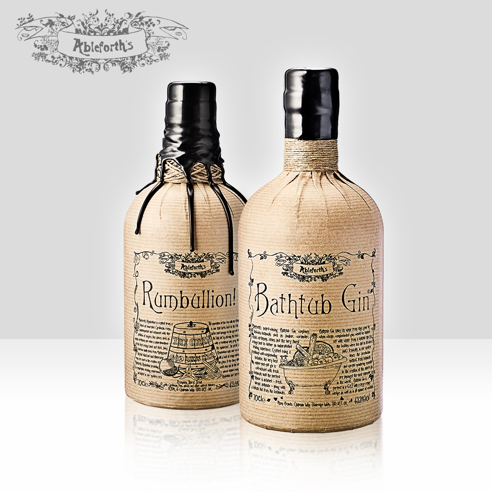Ableforth's   The flagship brand from the Atom portfolio includes the World's Best Gin, Bathtub, and is now present across all channels in the UK and over twenty markets globally including GTR.   Find out more here...