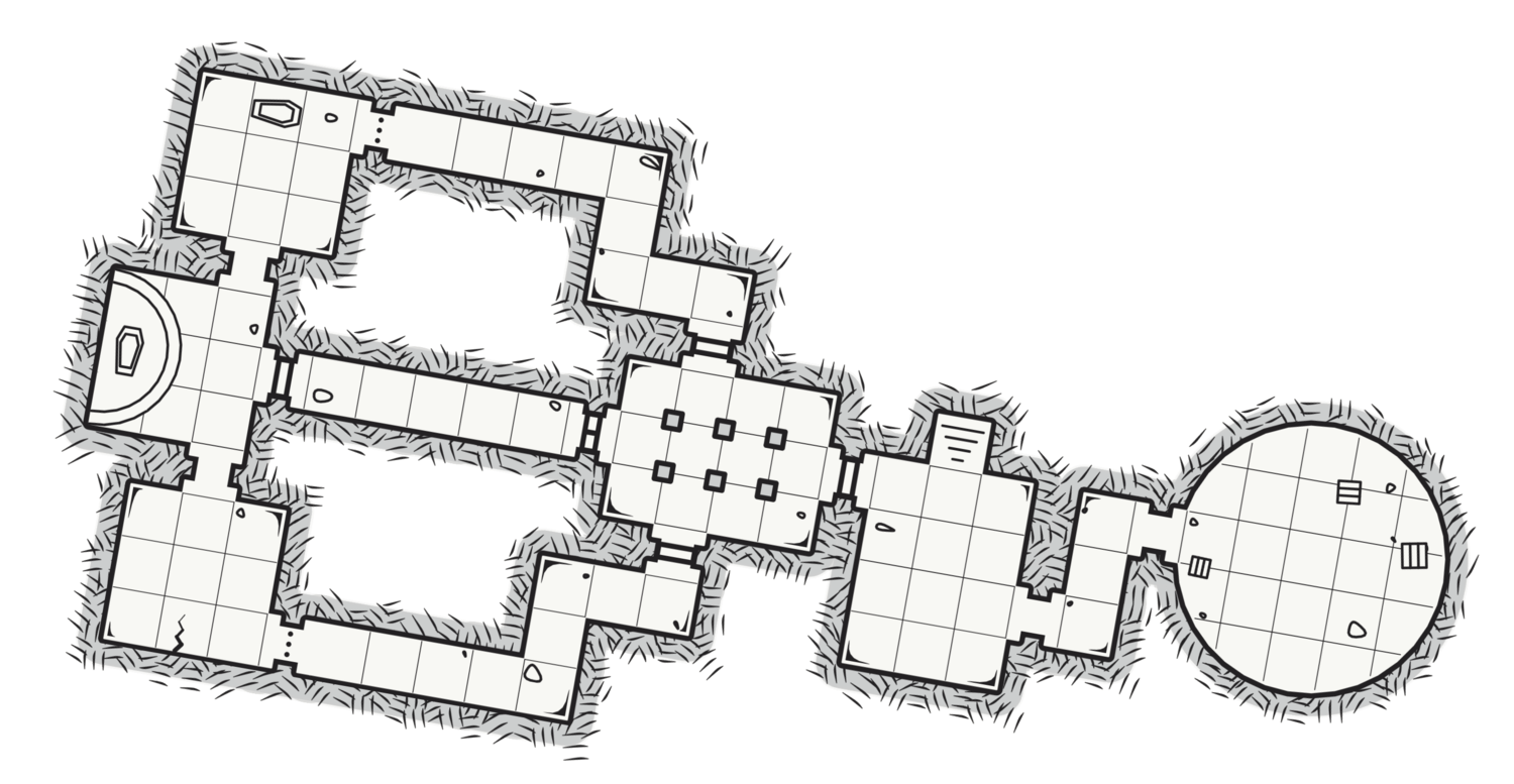 Dungeon 14 The Den Of Thieves Dmb Games Dungeon Tiles