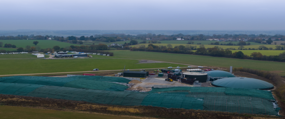 Fairfields Farm,   Qila designed & funded biomethane plant:   We stepped in to fund Fairfields farm at a late stage and managed to successfully get project financing and still meet our gas to grid date of March 2016.