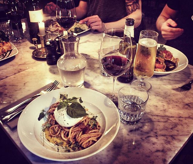 Ingen Italiensk måltid utan mozzarella 👌🏻