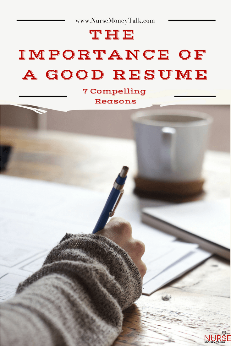"From the blog post ""The Importance of a Good Resume"""