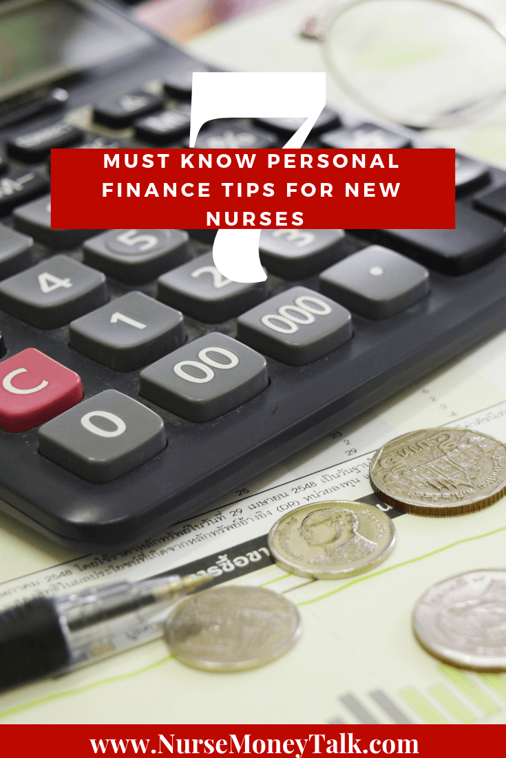 There are  7 must know personal finance tips  for new nurses. The first one is…