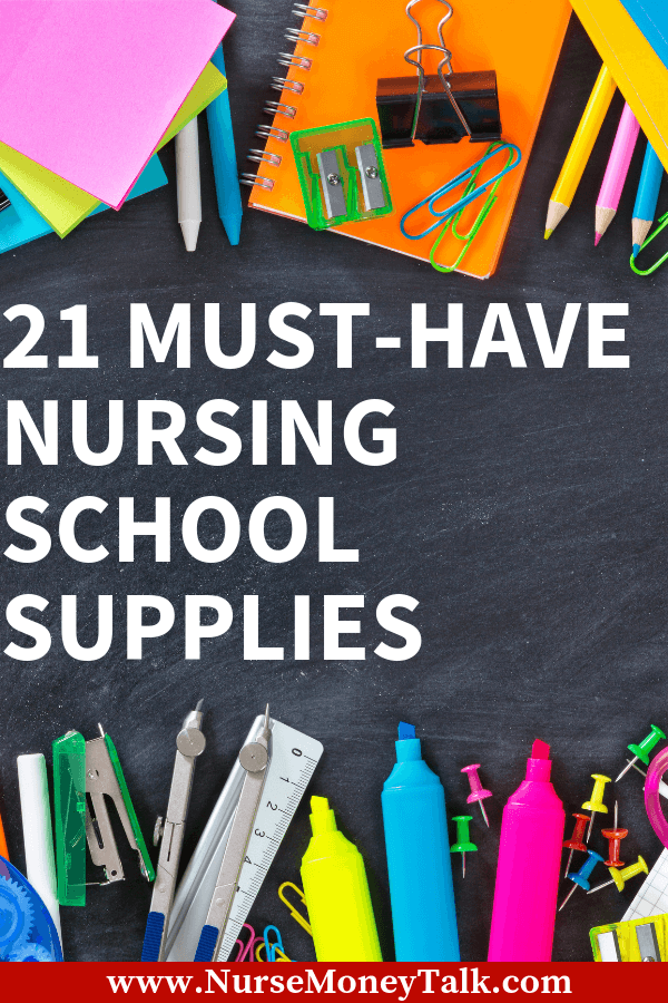 This article is a list of the essential nursing school supplies that nursing students need for nursing school. See also school supplies for nursing students. #nursingstudent #nursingschool