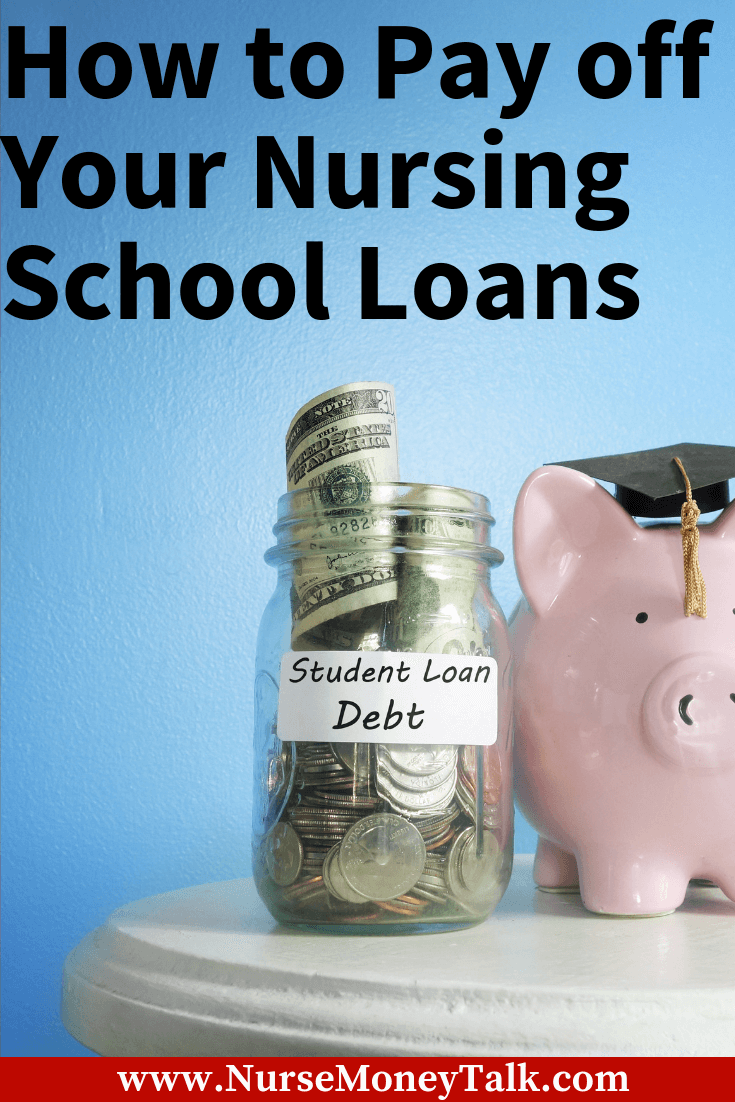 Get control of your nursing student loans with these steps. We walk you step by step with how to take control of your debt.
