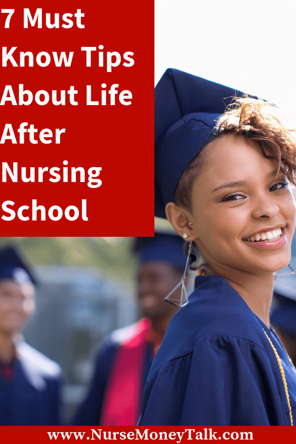 Tips and advice for after nursing school. For new nurse graduate. #newnurse #newnursegraduate