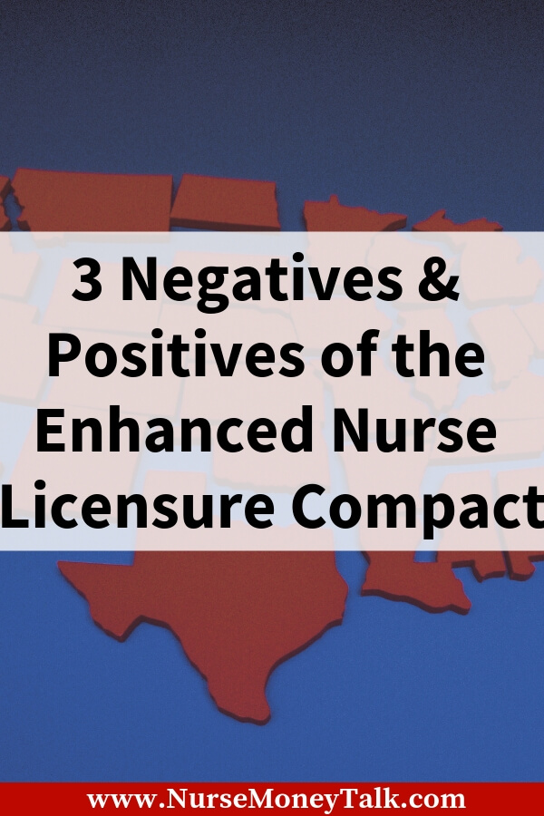 This article is about the pros and disadvantages of the enhanced nurse licensure compact. If you're a travel nurse this legislative bill is going to make this so much easier for you.