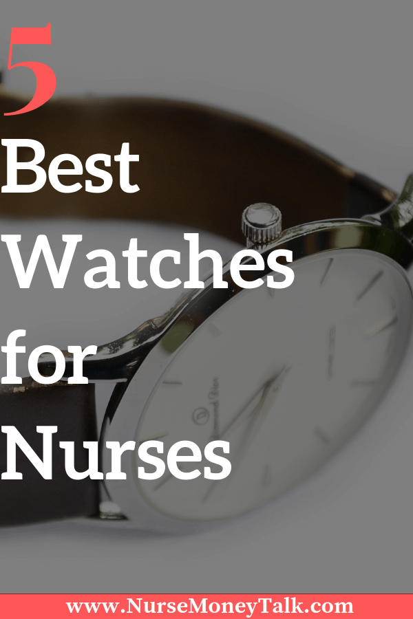 A good watch is important for any nurse. Here's a list and review of the best watches for nurses.