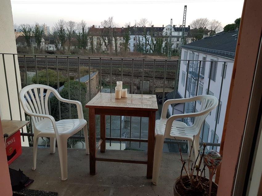 Zeil Voor Balkon : Qm zimmer balkon für wochenendheimfahrer☆vermittelt☆ u of