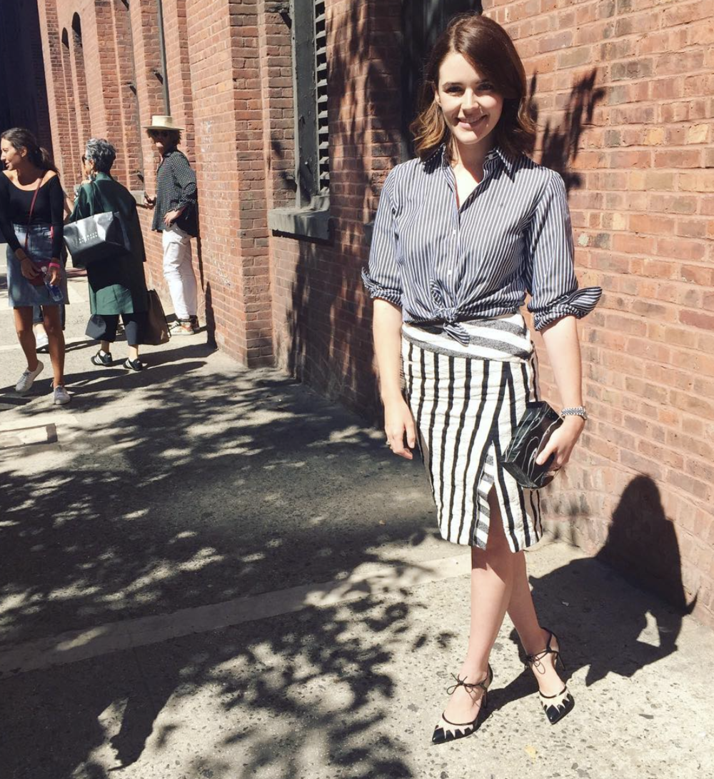 @ plandeville   out and about loving  #SS16 ! x catherine