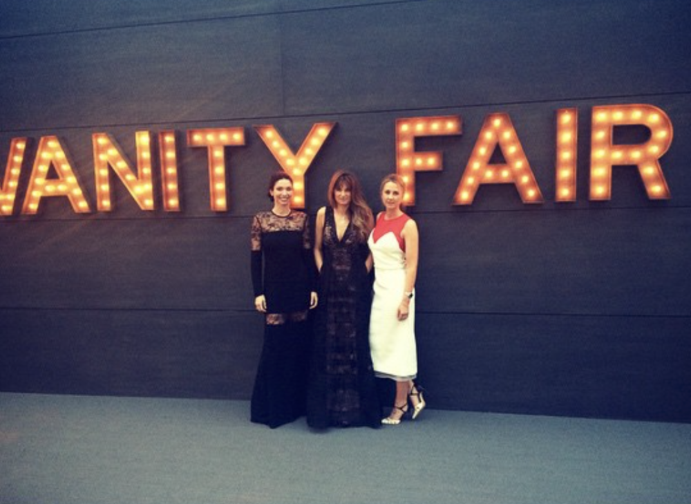 @ alice__bb   Thank you  @vanityfair  for having us to the best party in the world.  @khanjemima   @e.ije   #vanityfairoscarparty
