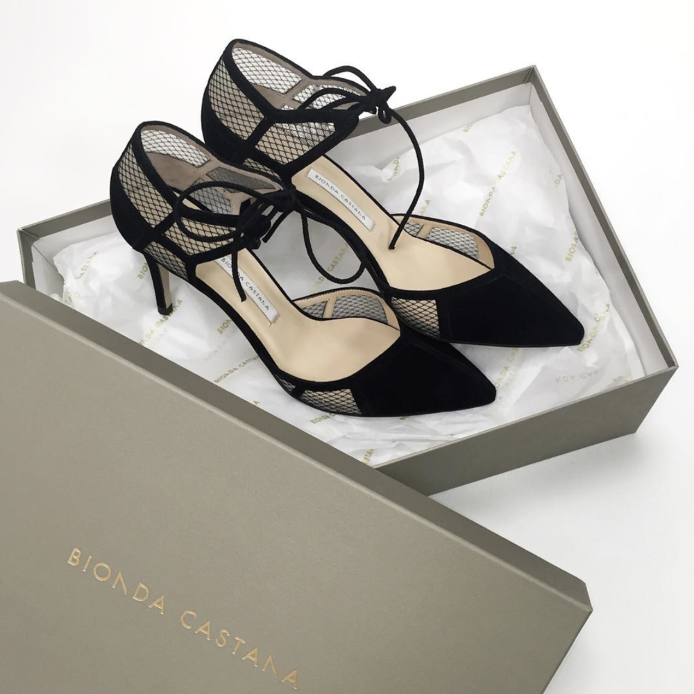 @ tomgreyhoundparis   Monday delivery ! Designed in London and handmade in Italy, that's maybe why we're so in ❤️ with Bionda Castana ! Explore our new BC arrivals now in store ✌🏻️  #tomgreyhoundparis   #biondacastana  #girlinbc   #pumps   #shoes