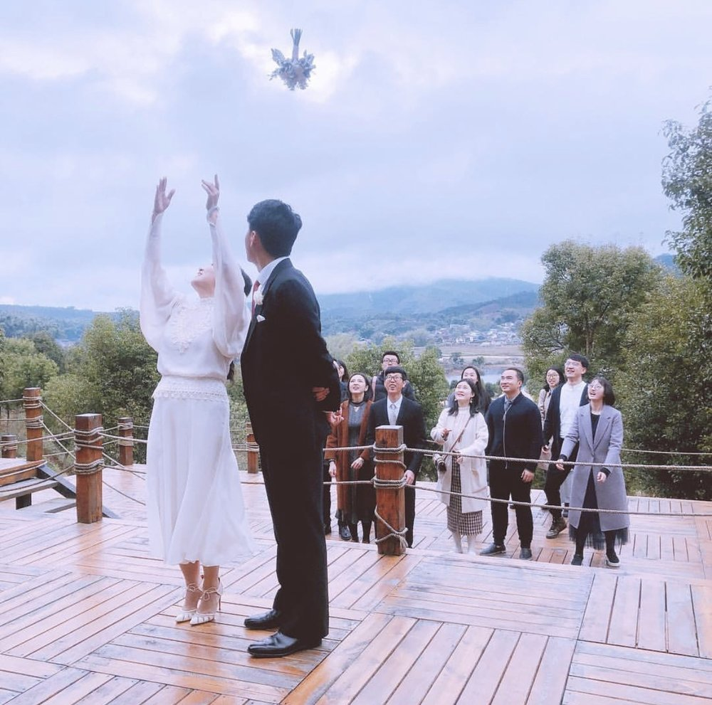 @lucyzhao11    让幸福接力,新年快乐,新婚快乐!  #wedding  #婚礼  #祖祥  #祖祥有机茶园  #organicteagarden  #simao  #思茅  #yunnan  #云南  #新婚快乐  #新年快乐  #happynewyear  #crockettandjones  #biondacastana