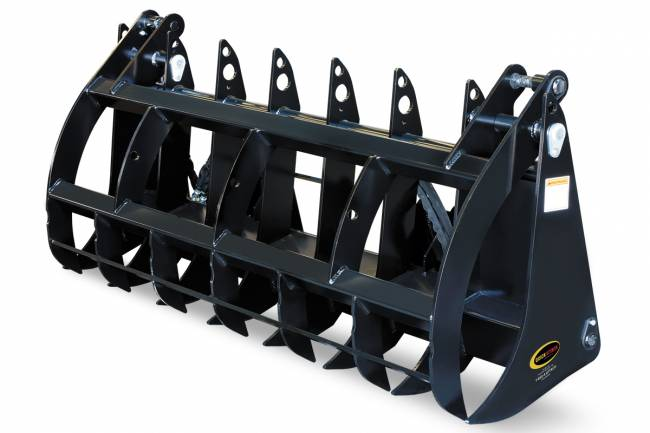 EZ Claw™ - Utility Grapple Rake - The Utility Grapple Rake is a versatile tool for handling debris including logs, brush, rock and concrete. The high-strength steel is built for rigorous use and the 48