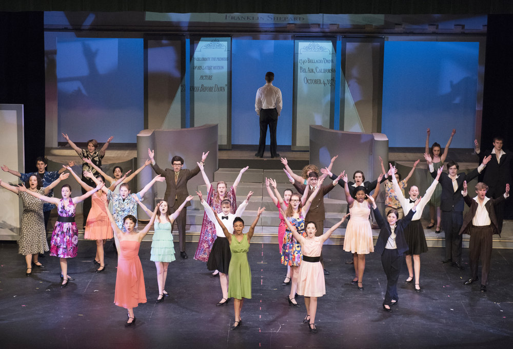 """Merrily We Roll Along:"" Behind the Scenes of the Winter Musical"