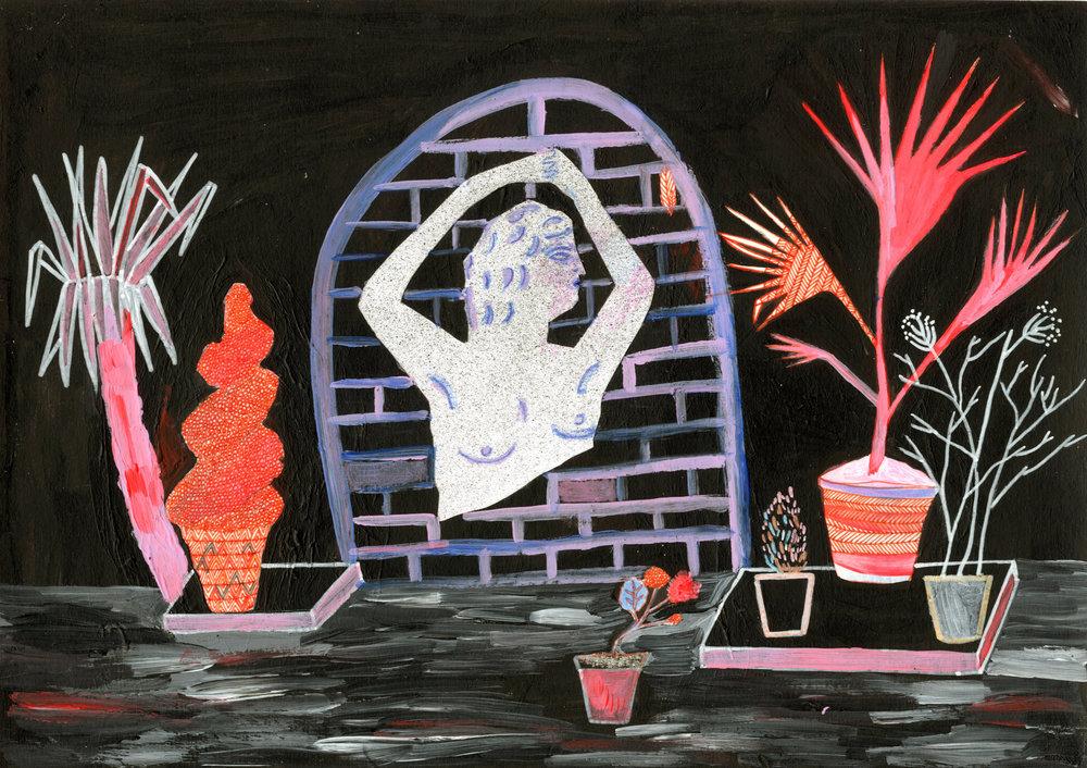 The Venus in the Garden