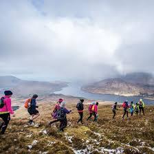 Hking in Connemara,Ireland with Killary Adventure Company