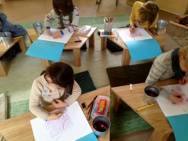Students create a Lesson Book which deepens their experience of the Thematic Lesson and serves as a memento of their academic learning journey.